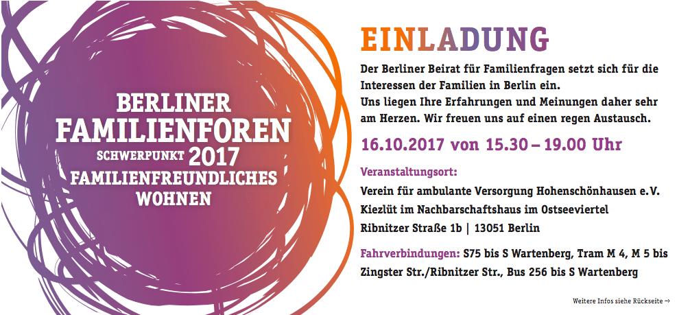 Familienfreundliches Wohnen in Hohenschönhausen