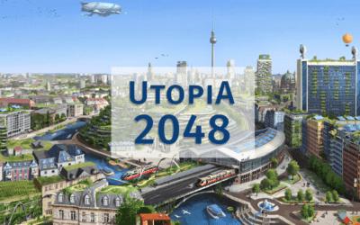 """Book-release und Leseprobe: """"Utopia 2048"""" von Lino Zeddies"""