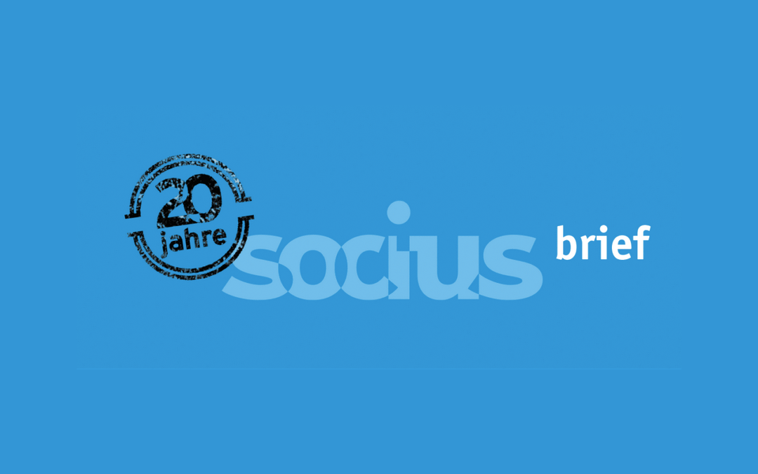 SOCIUS Brief Oktober